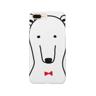 普通なクマさん Smartphone cases