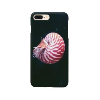 頭足類:オウムガイの水中写真 Nautilus Smartphone cases