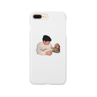 パパとロビンの晩酌 Smartphone cases
