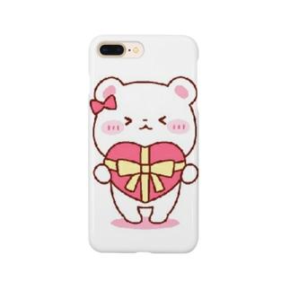 シロクマ Smartphone cases