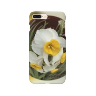 光景 sight735 水仙 花 FLOWERS  宙玉(そらたま) Smartphone cases