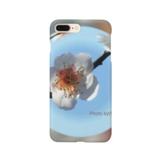 光景 sight736 梅 花 FLOWERS  宙玉(そらたま) Smartphone cases