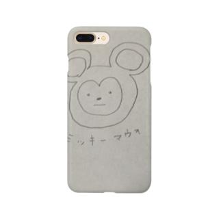 Niwのミッキーマウヲ Smartphone cases