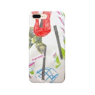 野薔薇と僕と、あのリズム Smartphone cases