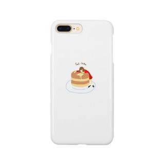 ホットケーキで寝たい Smartphone cases