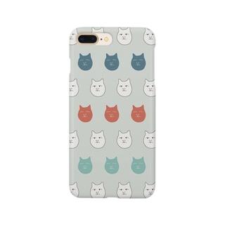 真顔猫 Smartphone cases
