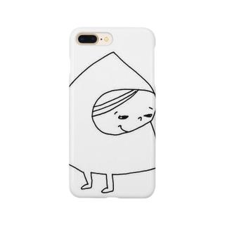 ちらちらミィ Smartphone cases