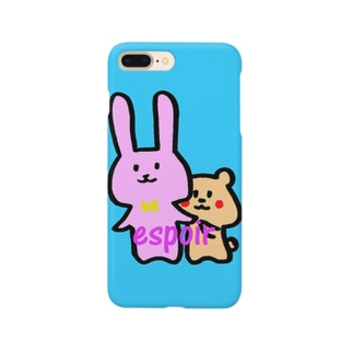 espoir(エスポワール)のあさっぴ&みーさん Smartphone cases