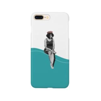 コラージュ 海 サマー Smartphone cases