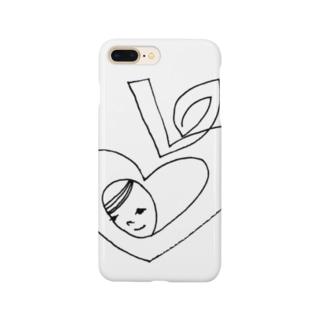 ハートの林檎 Smartphone cases