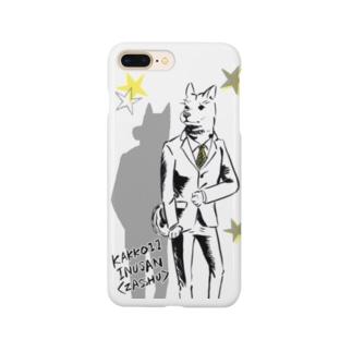 かっこいい犬さん〈雑種〉 Smartphone cases