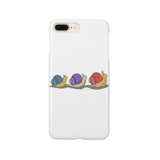 カタツムリ兄弟 Smartphone cases