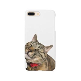 ねこまちランドのモカのお眠りタイム Smartphone cases