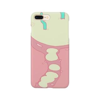 さぼてんのしま Smartphone cases