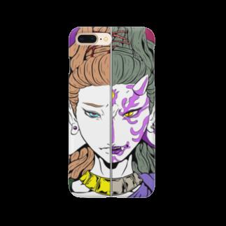 かさぎたすくの阿修羅・正邪 Smartphone cases