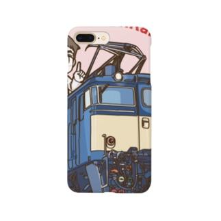 鉄道博士 EF63 Smartphone cases