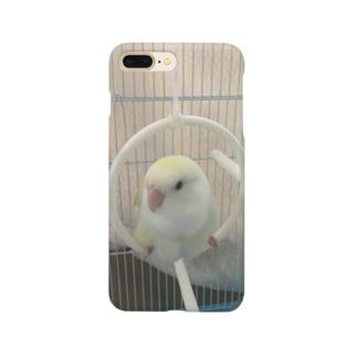 ふわふわミルキー Smartphone cases