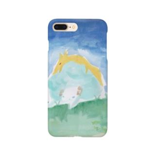 きつねと羊 Smartphone cases