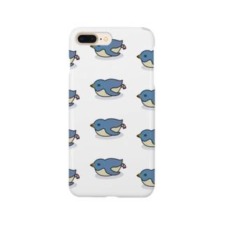 腹すべりペンギン Smartphone cases