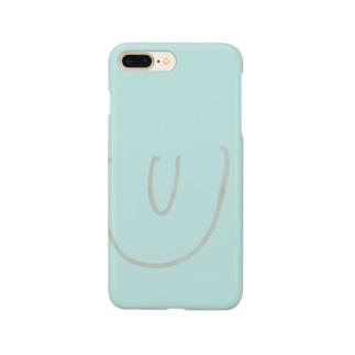 ©︎くめめ3さい「chin」 Smartphone cases