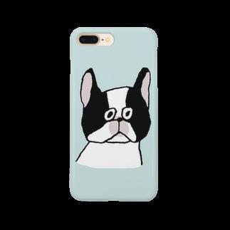 松岡マサタカ のフレンチブルドッグ Smartphone cases