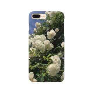白つる薔薇のアソビ Smartphone cases