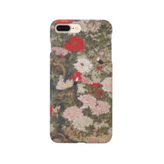 伊藤若冲《牡丹小禽図》 Smartphone Case