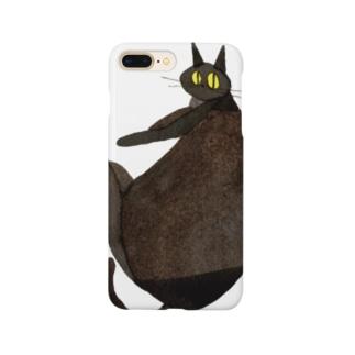 Black cat Smartphone cases