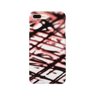 桃色の傷 Smartphone cases