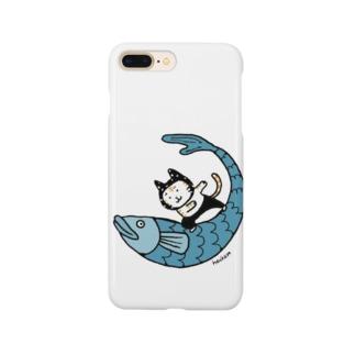 なみのりねこ Smartphone cases