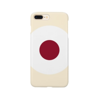 CORONET70のサークルa・クリーム2・白・チョコ Smartphone cases