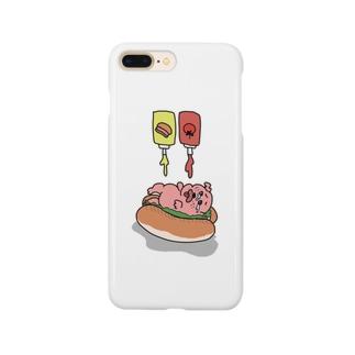 絶対絶命わんわんドック Smartphone cases