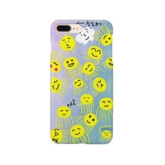 アテン神のiPhone plusのケース Smartphone cases