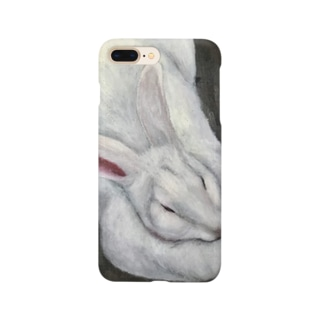 ジャンボうさぎf Smartphone cases
