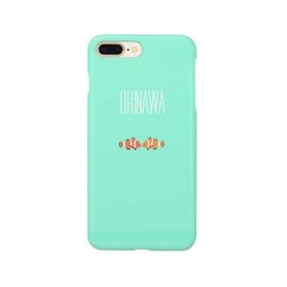 OKINAWA[カクレクマノミVer2] Smartphone cases
