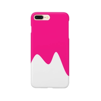 かき氷(イチゴ) Smartphone cases