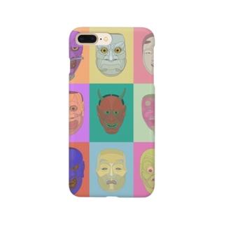 noh mask Smartphone cases