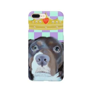 青汰のクイーン8 Smartphone cases