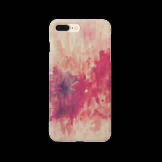 与音 ゆめ子の赤の追悼 Smartphone cases