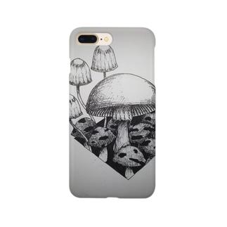 きのこ。 Smartphone cases