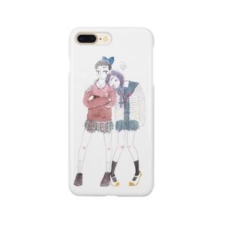 JKの悩み事スマホケース Smartphone cases