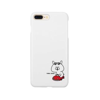 ゆるうさぎ ぶーん Smartphone cases