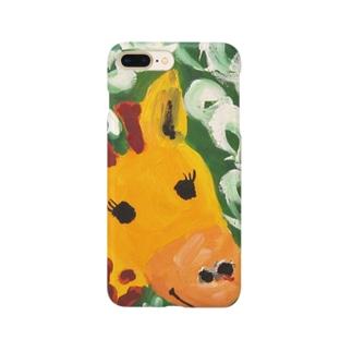 きりんさん Smartphone cases
