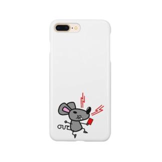SCS ネズミ Smartphone cases