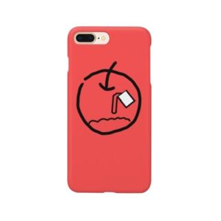 塗りつぶし失敗りんご Smartphone Case