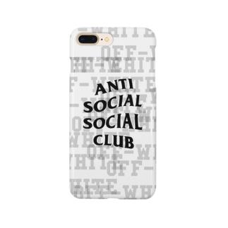 あんたい ホワイトんくん Smartphone cases