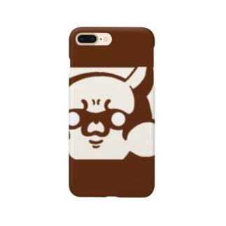 静かに圧をかけるリス Smartphone cases