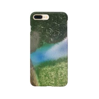 草原の中で Smartphone cases