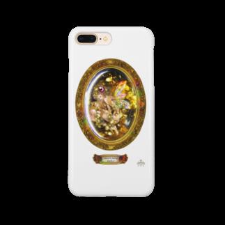∞Secret Crystal Garden∞の妖精入り琥珀 Smartphone cases