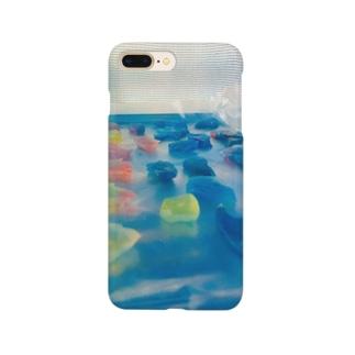 琥珀糖(乾かし中) Smartphone cases